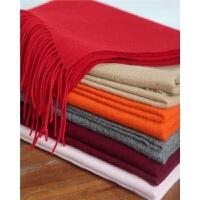 围巾女士羊毛大披肩SWW878 冬天加厚纯羊毛围巾保暖披肩 70*184cm