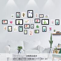 欧式水晶相框墙贴儿童房磁性照片墙装饰客厅创意彩色相片组合挂墙