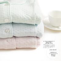 梦蜜 条纹加厚款 空气棉月子服秋冬季孕妇睡衣冬天产妇喂奶家居服