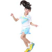 儿童羽毛球服运动服 男女童 乒乓球服网球球服班服队服