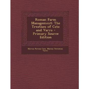 【预订】Roman Farm Management: The Treatises of Cato and Varro 预订商品,需要1-3个月发货,非质量问题不接受退换货。