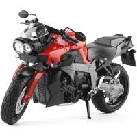 1:12 K1300R摩托车跑车模型 后轮带避震 儿童礼品玩具
