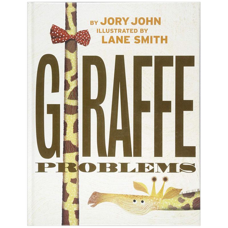 Giraffe Problems 长颈鹿的问题 英文原版儿童绘本 3-6岁 善本图书 汇聚全球出版物,让阅读改变生活,给你无限知识