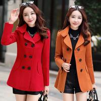 中年女装外套30-40岁妈妈秋冬装休闲风衣女短款秋季百搭毛呢外套