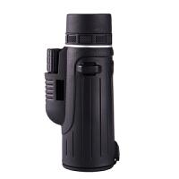 单筒望远镜高清高倍大目镜手机望远镜夜视军工非儿童红外微光 黑色