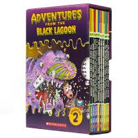 【首页抢券300-100】Black Lagoon Collection Set 2 黑湖小学历险记11-20册 套装2