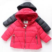 女童手塞棉新款宝宝冬装羽绒棉衣A字版型保暖外套棉袄