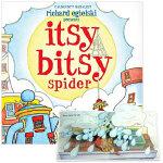 ITSY BITSY SPIDER可爱的小蜘蛛 英文儿童立体书