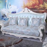 欧式沙发垫布艺皮沙发坐垫123组合沙发坐垫四季冬天定做