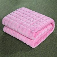 薄款法兰绒床垫榻榻米垫子垫被铺床褥子保暖1.2/1.8m床2米双人1.5j