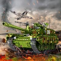 【支持礼品卡】儿童玩具积木拼装玩具益智6-7-8-10岁男孩军事坦克积木g2r