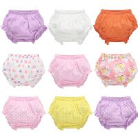 女宝宝小内裤0-3岁纯棉新生婴儿童幼童女宝女童面包裤夏