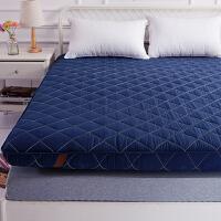 伊丝洁家纺加厚床垫1.5m床1.8m双人折叠超软床褥子海绵垫背