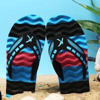 夏季人字拖男户外韩版潮个性凉鞋防滑拖鞋男士休闲沙滩鞋凉拖潮
