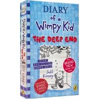 【首页抢券300-100】Diary of a Wimpy Kid 15 - The Deep End 小屁孩日记 精装