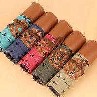 韩国风格卷帘笔袋可爱学生清新创意贝微微同款男女文具盒