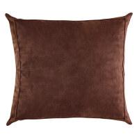 欧式纯色荷兰绒布样板房抱枕靠垫客厅沙发靠枕床头大号腰靠背