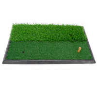 高尔夫球打击垫 厚底长短草 室内练习垫 高尔夫挥杆练习器 高尔夫练习垫 DJD005
