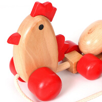 一岁宝宝拉绳玩具10个月婴儿拖拉学步车1-2-3周岁儿童拉线玩具车