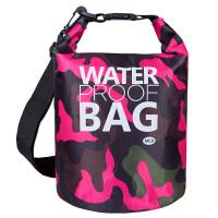 迷彩运动防水桶包游泳漂流沙滩户外旅行双肩背包防水袋收纳包