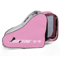金峰儿童溜冰鞋装包单肩背包直排轮滑旱冰鞋66溜溜三角包