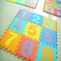 拼图地垫宝宝爬行垫游戏垫地板eva儿童泡沫垫拼图 防摔拼装