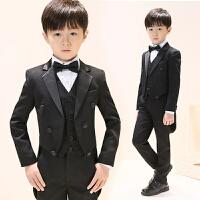 男孩西装套装儿童礼服男童燕尾服宝宝小主持人花童婚礼钢琴演出服
