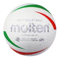 Molten摩腾 3号2号 软式排球 休闲训练 橡胶材质 4人制排球 S3V1200-WX S2V1200-WX