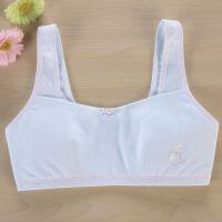 小女孩女大童内衣小背心12-13-15岁初中生文胸发育期学生纯棉胸衣