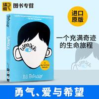 正版 现货 奇迹男孩 英文原版 Wonder 英文版小说 励志青春进口英语书籍