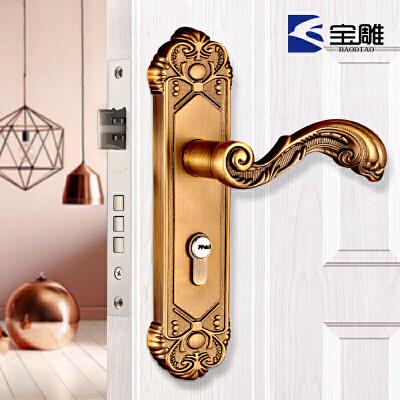 多色欧式复古房门锁室内机械门锁青古铜门锁卧室把手锁具 发货周期:一般在付款后2-90天左右发货,具体发货时间请以与客服协商的时间为准