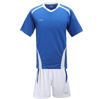 etto英途 儿童足球服套装短袖训练服男光板足球衣组队服 SW1101