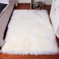 宜家羊毛地毯卧室床边毯沙发垫客厅茶几地毯飘窗垫长方形家用定制