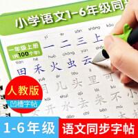 凹槽练字帖儿童1-2一3-6年级同步生字楷书小学生铅笔硬笔书法本