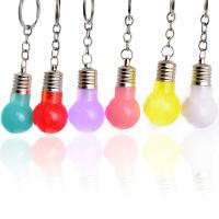 发光灯泡钥匙扣男士腰挂挂件韩国情侣钥匙链创意汽车挂饰钥匙圈环