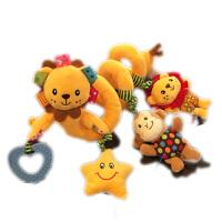 婴儿床铃0-3-6-12个月 音乐床绕 推车挂件车饶床挂 宝宝玩具0-1岁 可爱狮子床绕 带音乐