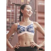 户外运动内衣女套装高强度跑步健身美背聚拢防震背心式文胸