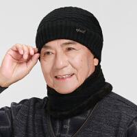 冬天保暖老人帽子男老年爷爷毛线帽冬季中老年男士老头中年爸爸帽