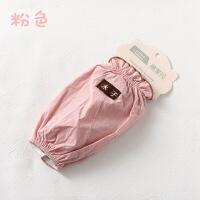 韩版袖套女短长款办公污儿童护袖头新款秋冬季卡通套袖 22cm