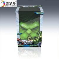 新华书店正版 造梦师80807 复仇者联盟 绿巨人面具3D装饰壁灯