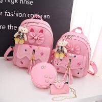 儿童双肩包女童可爱公主包包时尚女孩旅游背包潮韩版幼儿园小书包