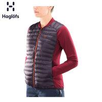 Haglofs火柴棍户外运动女款轻量保暖抓绒拼接夹克603631欧版