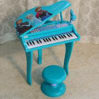 儿童钢琴电子琴女孩初学者1-3岁益智音乐早教冰雪奇缘2公主玩具