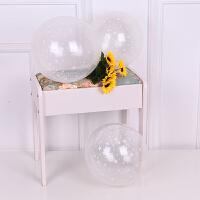 结婚庆用品创意气球生日派对婚礼婚房装饰布置印花透明求婚气球