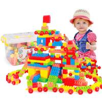 儿童颗粒塑料积木玩具宝宝拼插组装积木1-3-6周岁男女孩