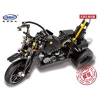 【当当自营】星堡积木 机械组系列 跑车系列 拼插拼装玩具03020 重型机车 高难度拼装积木 摩托车模型玩具