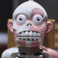 人体模型拼装骷髅日本韩国益智恐怖鬼屋恶搞儿童节整蛊偶桌面玩具