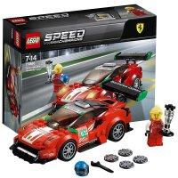 【当当自营】LEGO乐高法拉利488GT3ScuderiaCorsa车队 75886