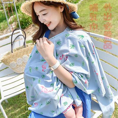 8201多功能哺乳巾授乳外出披肩上衣遮挡衣防走光罩衣