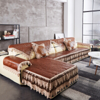 夏季麻将席沙发垫坐垫竹席凉席办公室客厅坐垫123组合套 咖啡色 欧式32公分